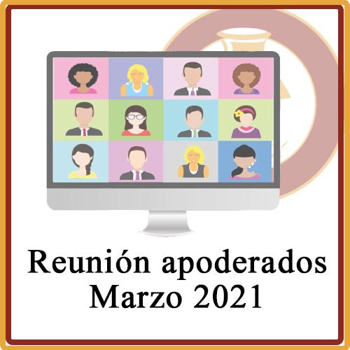 Reuniones apoderado Marzo 2021